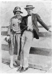 Photo: Juliet's grandparents on their honeymoon.