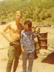 Photo of Jim and Tanti in Vietnam.