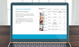 Photo: Family Finder's DNA matching feature.